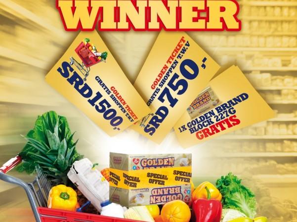 Be a GOLDEN Ticket Winner!
