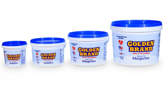 Golden Brand 'No refrigeration required' margarine