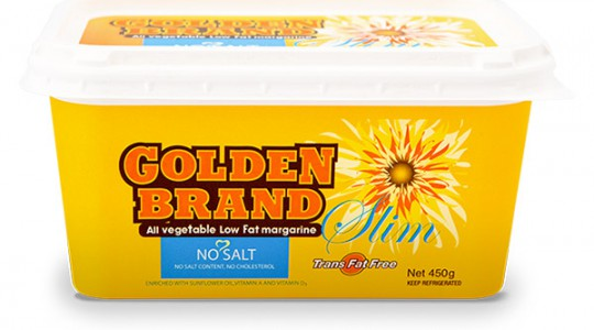 Golden Brand Slim 'No salt' margarine