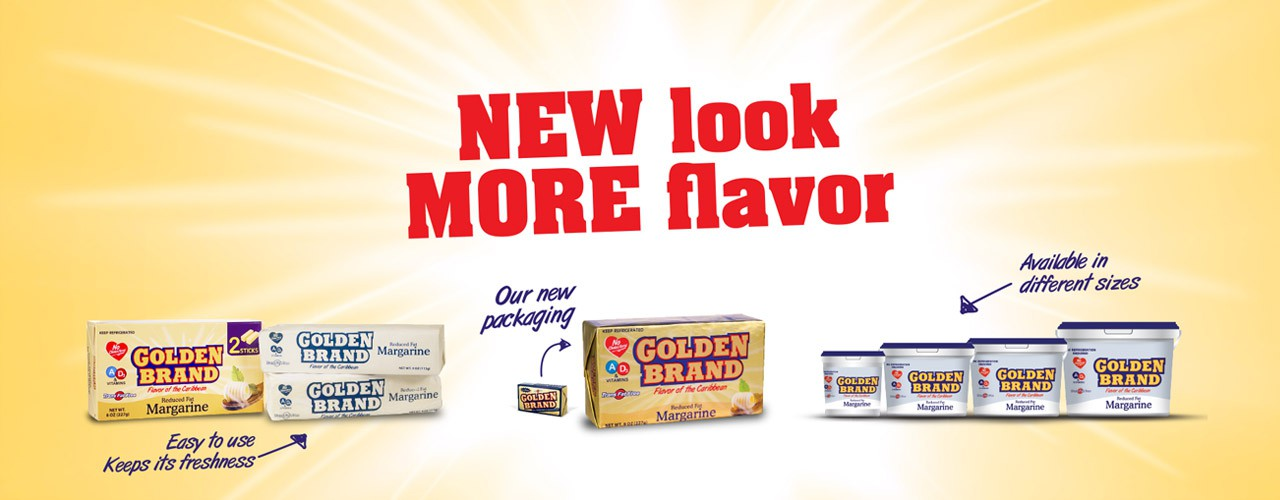 Golden Brand Margarine introduces a new '2 sticks' pack
