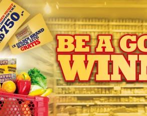 Be a GOLDEN TIcket Winner!!